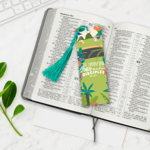 Go Therefore Bookmark on Marble